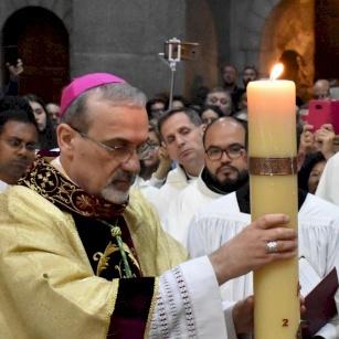 Homélie du Patriarche Pierbattista Pizzaballa pour la Vigile Pascale 2021