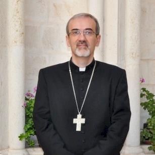 Biography of Archbishop Pierbattista Pizzaballa