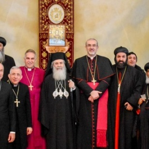 Easter Message of the Patriarchs and Heads of Churches in Jerusalem 2018