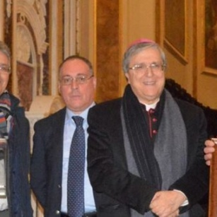 Archbishop Pizzaballa receives the Giorgio La Pira Prize at Cassano all'Iono