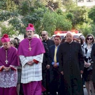 الاحتفال بعيد بشارة مريم العذراء في الناصرة  ٢٠١٨