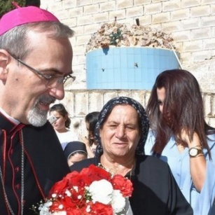 Archbishop Pizzaballa continues pastoral visits in Jordan