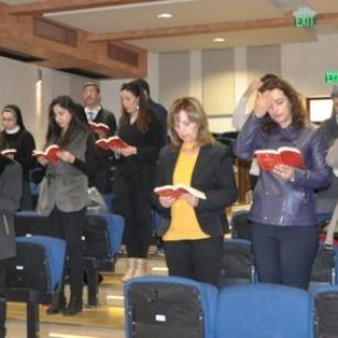 رياضة روحية لمعلمي ومعلمات التعليم المسيحي تحضيرا لزمني المجيء والميلاد