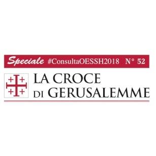Newsletter du Grand Magistère de l'Ordre du Saint-Sépulcre : Spéciale Consulta 2018