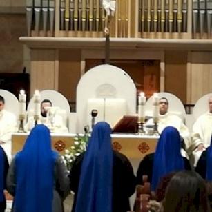 Festa di San Giuseppe a Betlemme: le suore del Verbo Incarnato celebrano anche il loro anniversario di fondazione