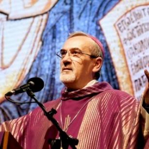 Mgr Pizzaballa à Rimini : « Priez pour Gaza et pour les chrétiens qui y vivent ».
