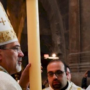 Homélie de Mgr Pierbattista Pizzaballa pour la Veillée Pascale 2019
