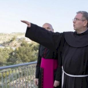 Il presidente Mattarella in visita al Monte Nebo