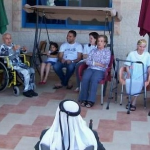 The Beit-Afram retirement home in Taybeh has new equipment
