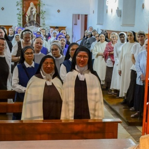 Al Carmelo di Betlemme si celebra la ricorrenza di Santa Mariam Baouardy