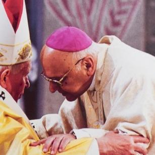 En mémoire de Jean-Paul II en Terre Sainte