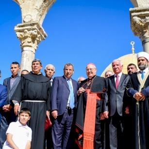 Conclusi i festeggiamenti dell'VIII centenario dal pellegrinaggio di pace di San Francesco in Terra Santa