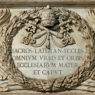 """Saint John Lateran, """"mater et caput"""" (Mother and Head) of all the Churches in the world?"""