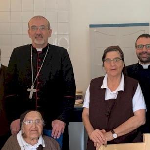 Visite de Mgr Pierbattista Pizzaballa aux congrégations religieuses de Galilée