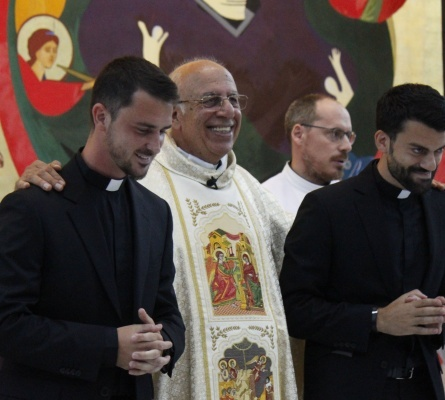 Dos seminaristas de la Redemptoris Mater fueron admitidos a órdenes sagradas en el Patriarcado latino de Jerusalén