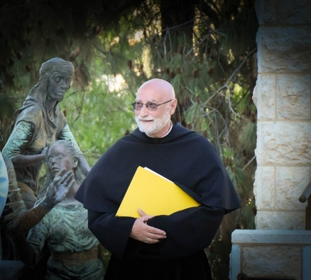 """""""I will not forget this land and those who continue to live in it"""" says Fr. Jean-Daniel Gullung, Assumptionist, in his goodbye to Holy Land"""