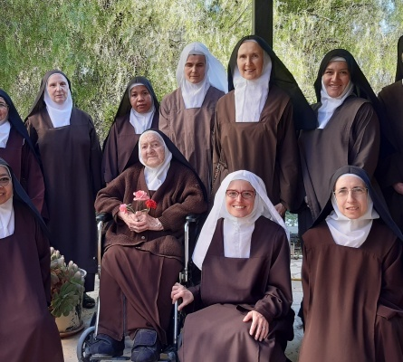 Sr. Agathe Marie of the Eucharist elected new Prioress of Carmel of Pater Noster