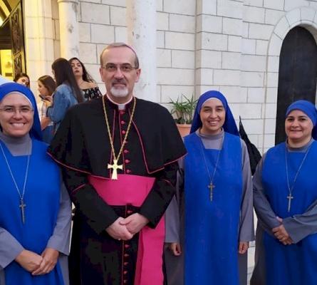Taybeh: El nuevo servicio del Instituto de las Hermanas del Verbo Encarnado en la Casa de Ancianos de Beit Afram