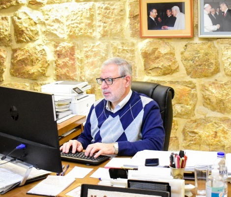 A Miracle is Needed: Reflections of Mr. Sami El-Yousef, CEO of Latin Patriarchate