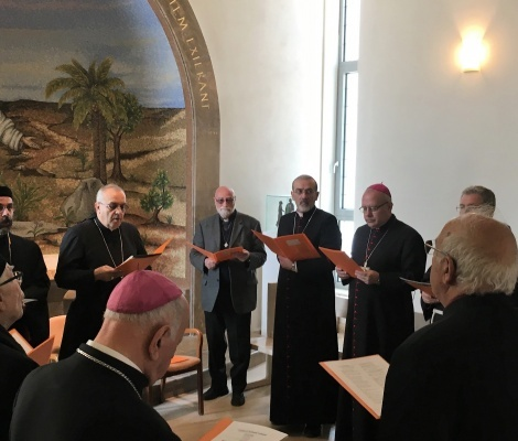 Church of Holy Land and Catholic Ordinaries pray in time of Coronavirus