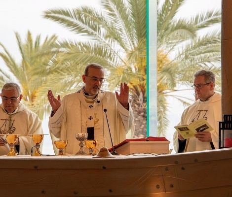 Celebration of the Feast of Saint Mary Magdalene in Magdala