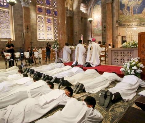 14 Salesiani ordinati Diaconi al Getsemani