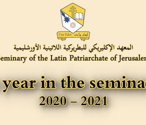 نشاطات المعهد الإكليريكي البطريركي في بيت جالا للعام ٢٠٢٠- ٢٠٢١