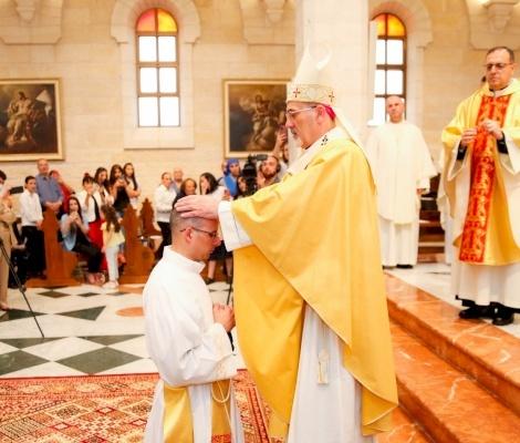 Ordinazione sacerdotale e prima Messa di P. Nadim Giacaman a Betlemme