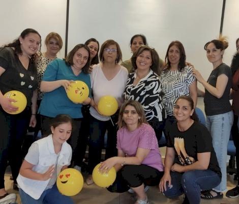 Nell'ambito del rafforzamento dell'emancipazione delle donne, il Patriarcato Latino ospita un seminario sulla Terapia della Risata