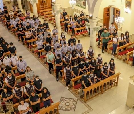 صلاة راهبات القديس يوسف للظهور بمناسبة بدء العام الدراسي الجديد ٢٠٢١- ٢٠٢٢