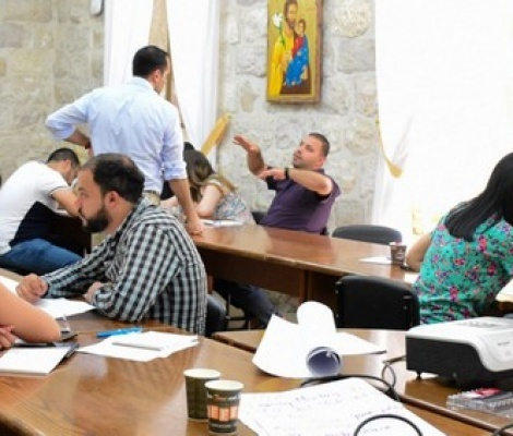 Capacity Building Program: Life Soft Skills Training for Latin Patriarchate employees
