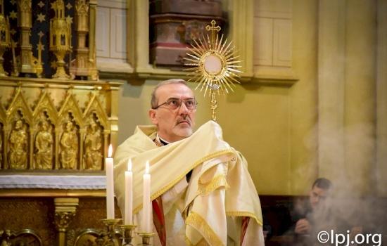 Omelia di Mons. Pizzaballa in occasione della Preghiera di Riparazione alla Concattedrale del Patriarcato latino