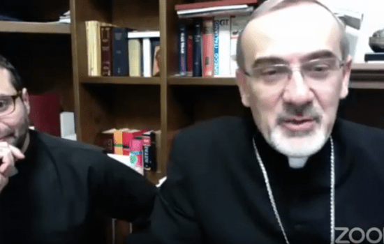 Archbishop Pizzaballa discusses Holy Land pilgrimage with Don Bosco Salesian youth