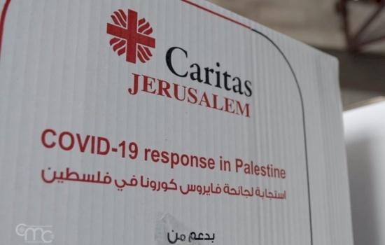 كاريتاس القدس: مبادرات إنسانية لمواجهة فيروس كورونا
