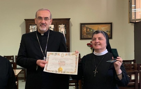 """الأخت فيرجيني حبيب: """"بعد ١٥ عامًا كمسؤولة عن مكتب التعليم المسيحي أجد أني قد """"أتممت شوطي وحافظت على الإيمان"""""""