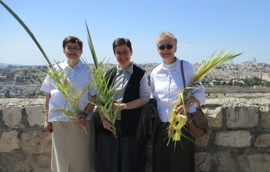 "Sisters of Spiritual Family ""the Work"" pray for Holy Land and its inhabitants"