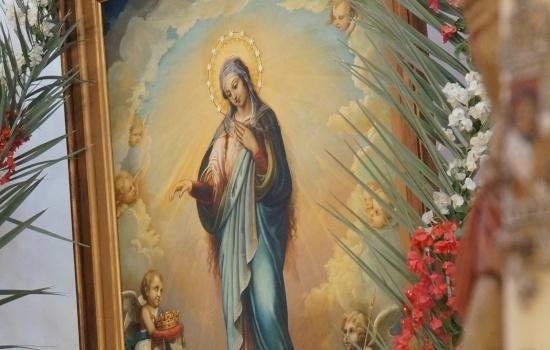 La solennità della Beata Vergine Maria, Regina della Palestina a Deir Rafat