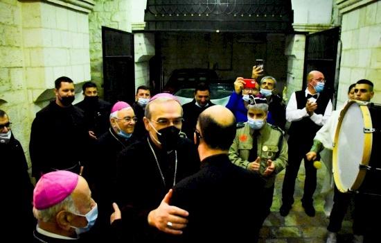 Il Patriarcato Latino accoglie il suo nuovo Patriarca Pierbattista Pizzaballa