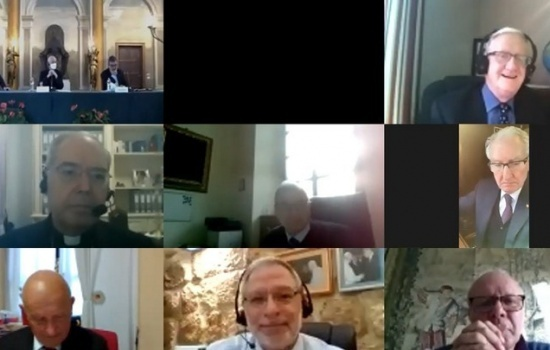 The Grand Magisterium gathered online for its Fall meeting