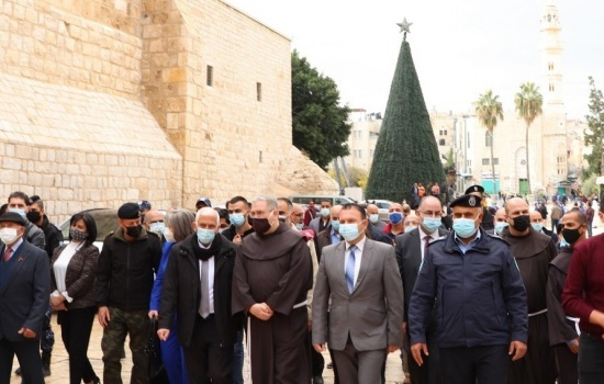 Opening of Advent Season in Bethlehem amid Coronvirus restrictions