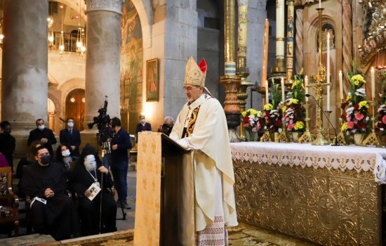 Homily of Patriarch Pierbattista Pizzaballa for his first Pontifical Mass at Holy Sepulchre