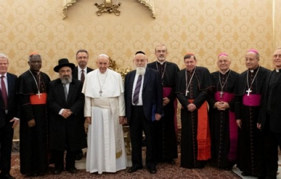 """Holy See's Commission for Religious Relations with the Jews and Rabbinate of Israel discuss """"dignity of children"""""""
