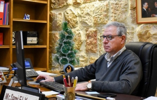 Mr. Sami El-Yousef, CEO of Latin Patriarchate, sends message for Christmas 2018