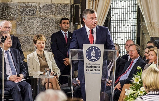 Remarks by His Majesty King Abdullah II During the Lamp of Peace Award Ceremony in Assisi