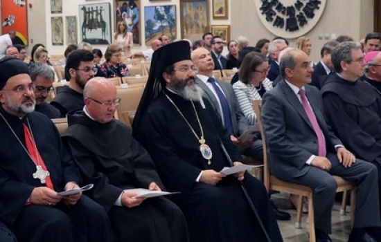 Celebrations for the 800th anniversary of St. Francis' visit to Cyprus