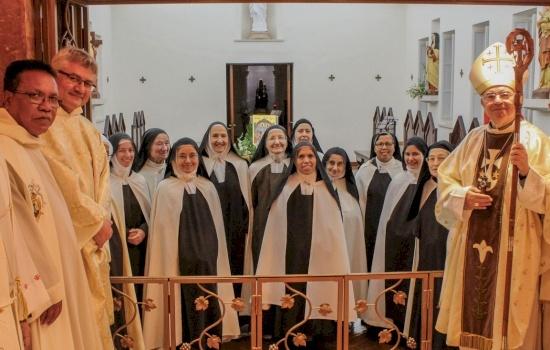 Mass celebrated on Mount Carmel for the Solemnity of St. Teresa of Avila
