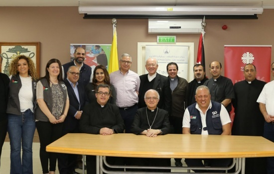 Jordan: Latin Patriarchate Schools sign 12 cooperation agreements with Caritas Jordan benefiting Syrian refugees