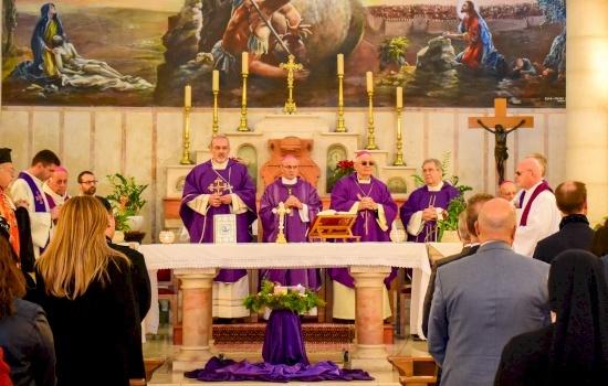 A Ramallah la diocesi celebra il compleanno di papa Francesco