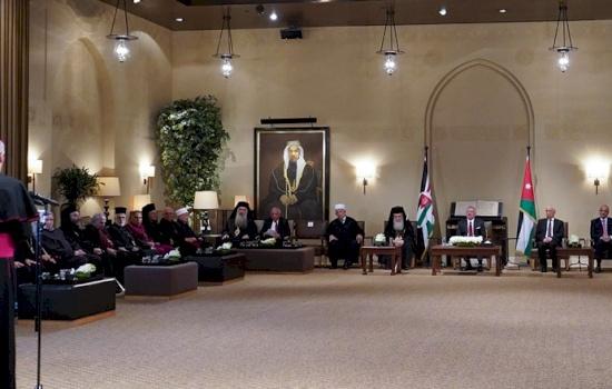 Christmas speech of Archbishop Pizzaballa to His Majesty King Abdullah II