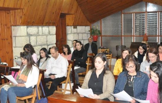 Advent: Catechetical Office of LPJ organizes spiritual retreat for Christian teachers in Bethlehem and Ramallah